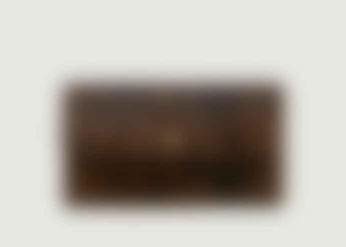 Petite Mendigote Python Camel Leather Wallet