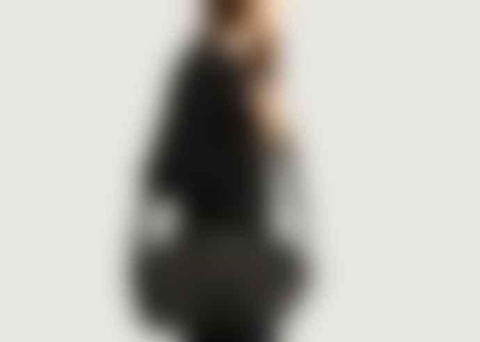 Petite Mendigote New Zealand Black Leather Bubble Little Jorge Bag