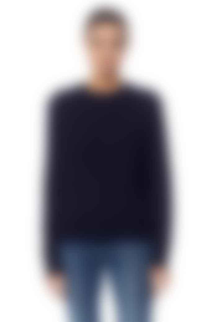 360 Cashmere Celeste Navy Knit Sweater