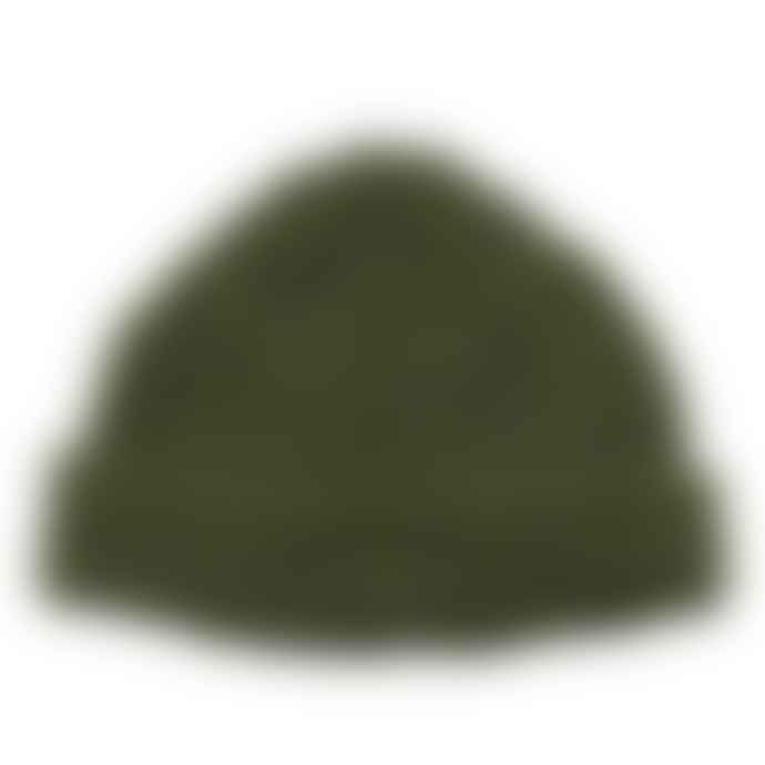 cableami British Wool Short Beanie Olive