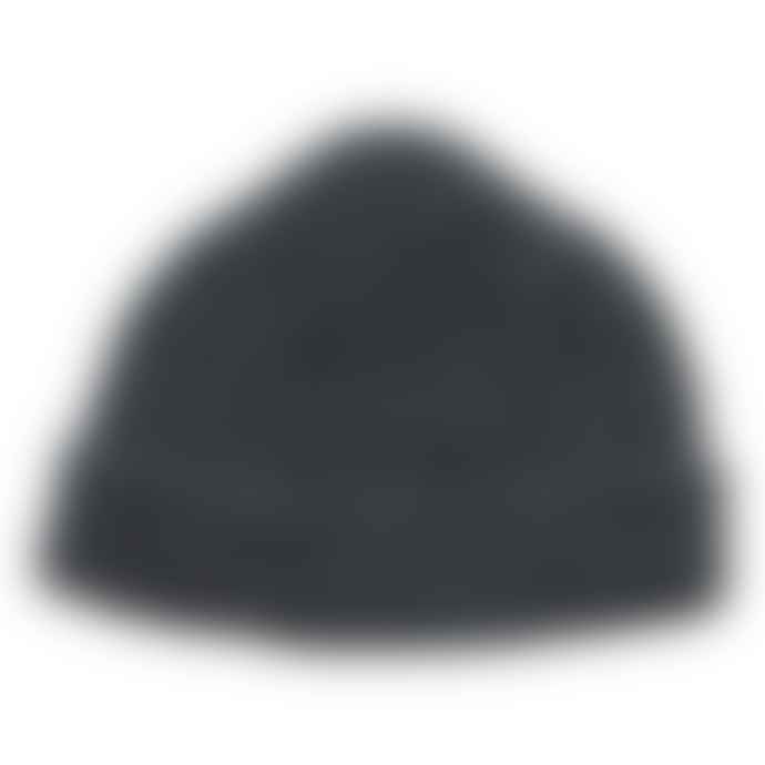 cableami British Wool Short Beanie Gray
