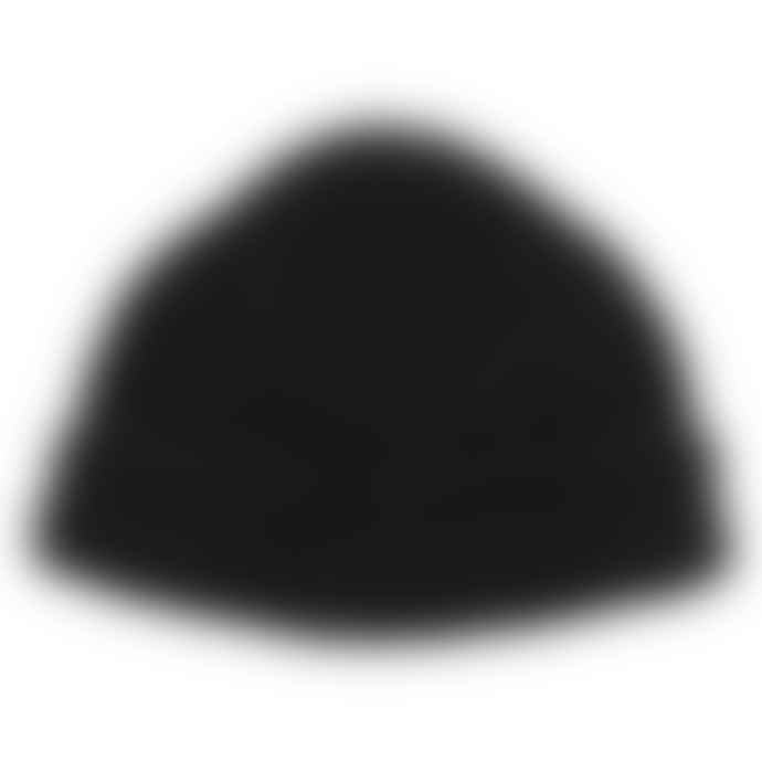 cableami British Wool Short Beanie Black