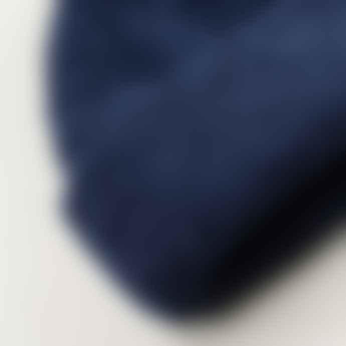 cableami Boa Fleece Drawcord Hat Navy