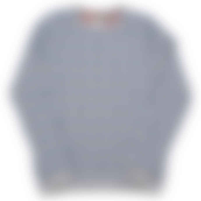 A.D.Deertz Blue Geo Poplar Sweater