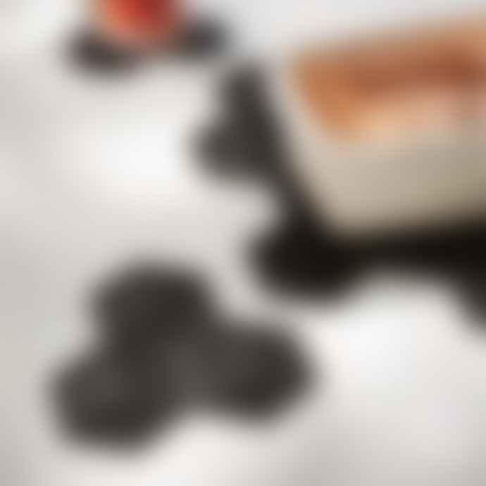 Puik Black Coaster Sico set of 4