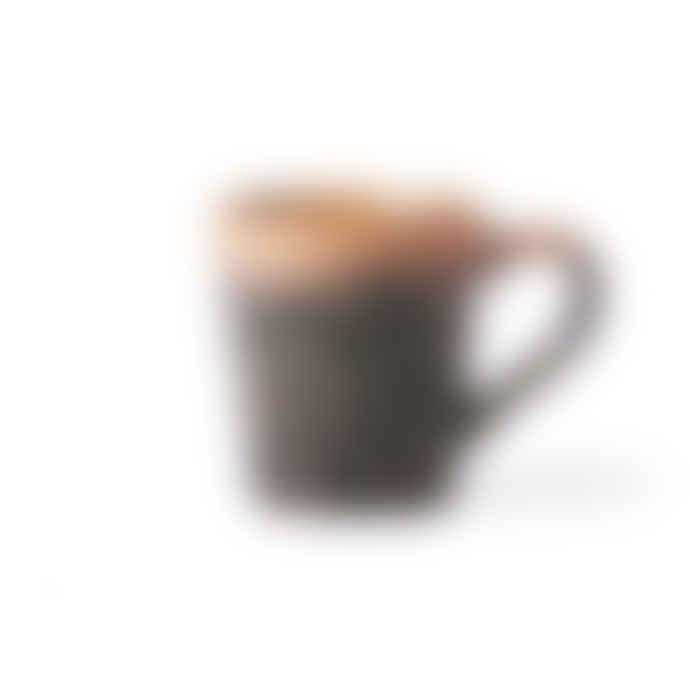 HKliving Ceramic 70´s Espresso Mug Lava
