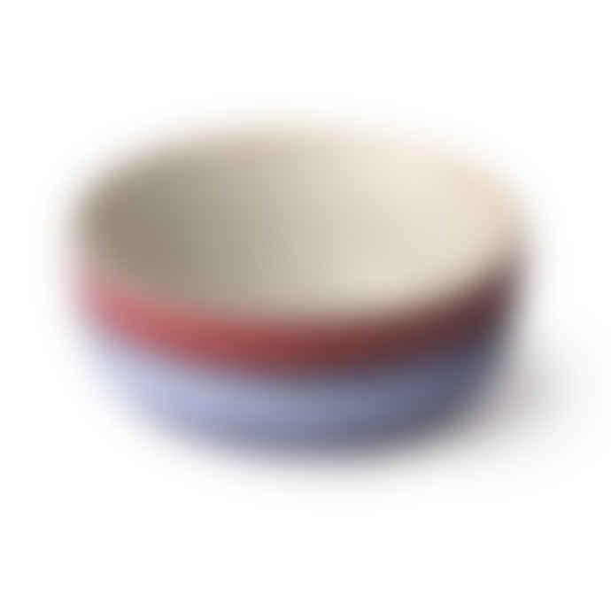 HKliving Ceramic 70´s Bowl Medium Air