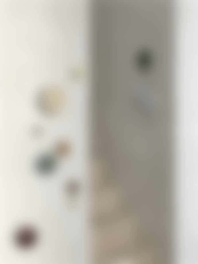 Muuto Set of 5 Black Wood The Dots Coat Hook