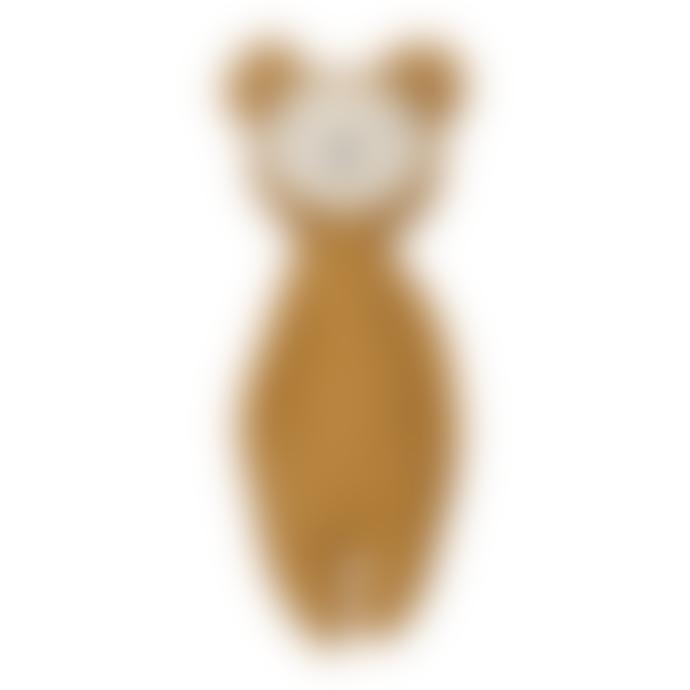FABELAB Rattle soft - Bear ochre