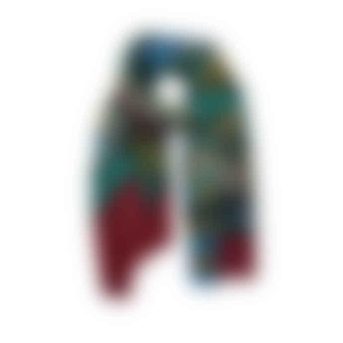 Inouitoosh  Sauvage bordeaux scarf