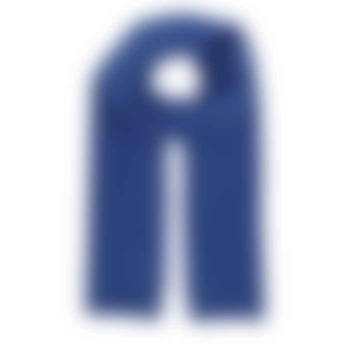 Colorful Standard Royal Blue Merino Wool Scarf