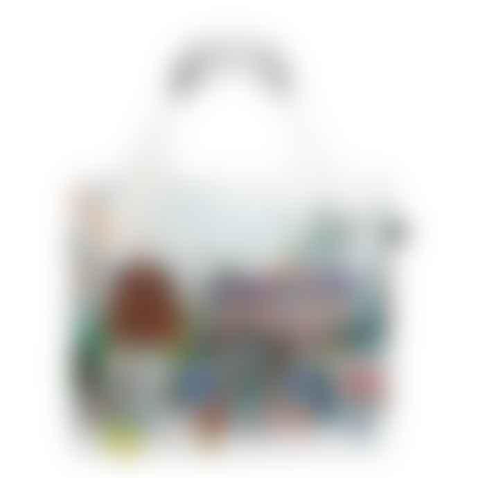 LOQI Kristjana S Williams Interiors World Skyline Tote Bag