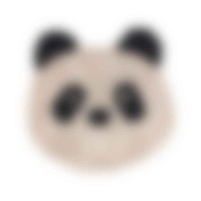 Liewood Bobby Cotton Rug in Beige Panda