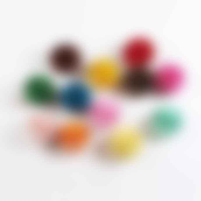 Petra Boase Multicoloured Bunting Ball Garland