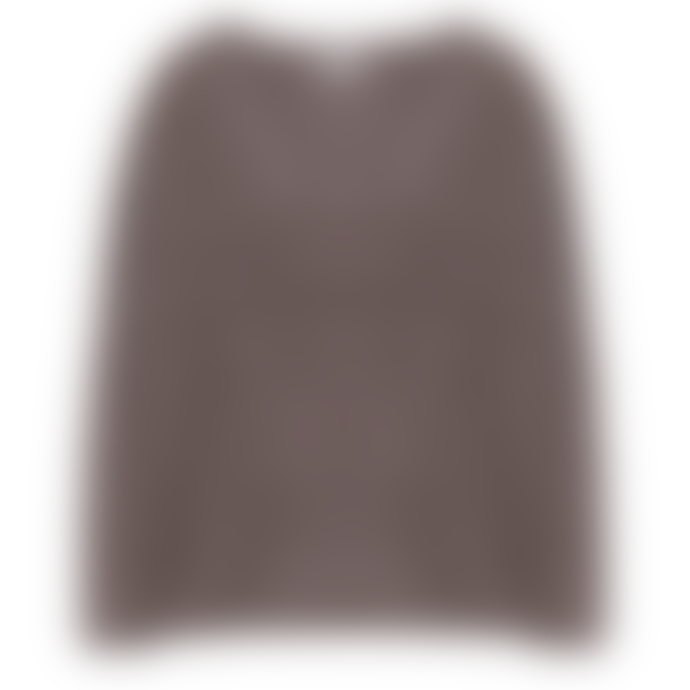 engage Taupe Cashmere Structure Knit Sweater