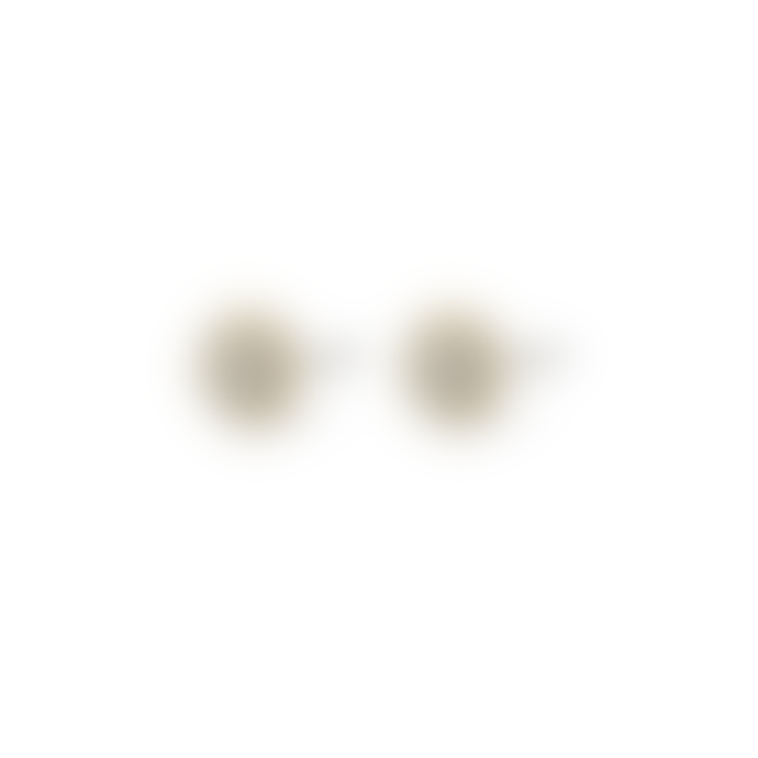 Pilgrim 0.7cm Gold Plated Heather Crystal Stud Earrings