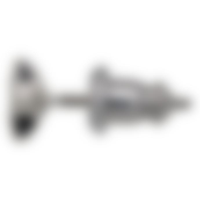 Pilgrim 0.5cm Silver Plated Steel and Zinc Ava Star Stud Earrings