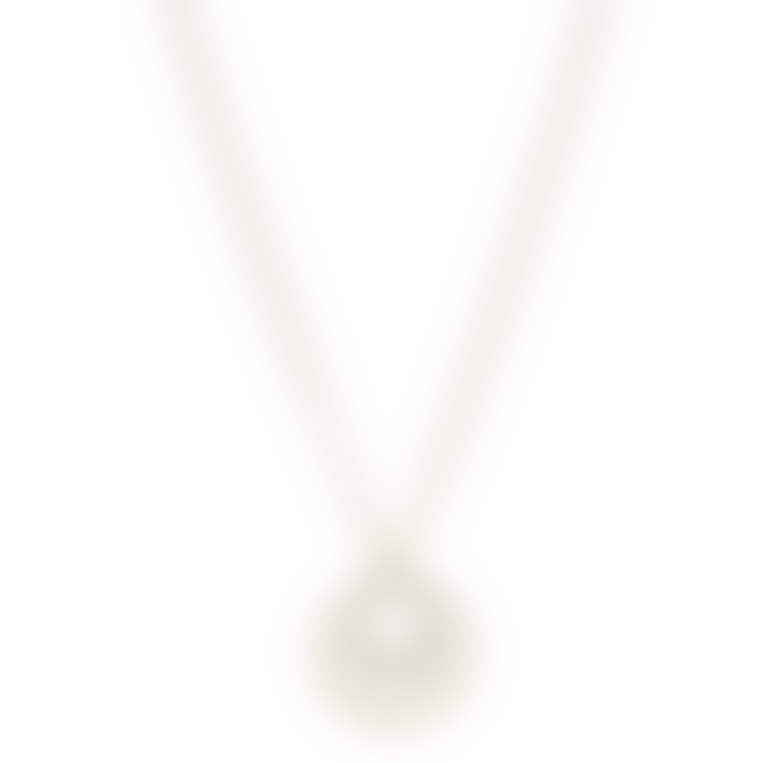 Pilgrim 40cm Gold Plated Cassie Art Deco Necklace