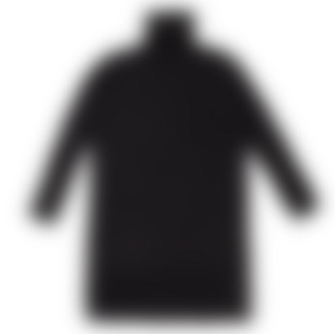 Cathrine Hammel Wool Turtleneck W Splits Black