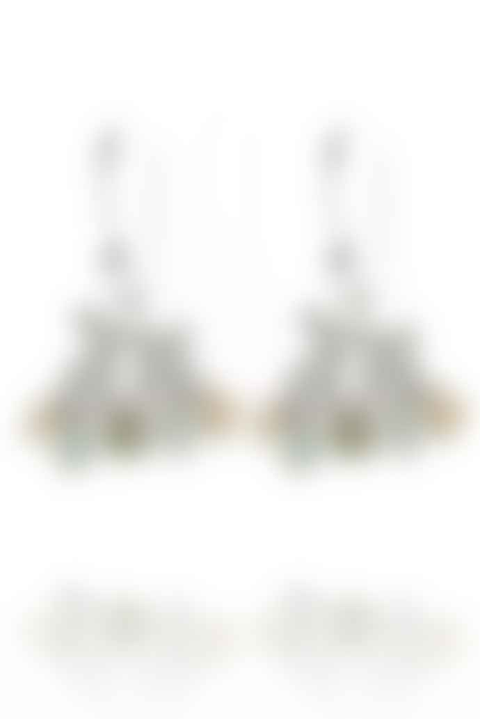 Amanda Coleman Kissing Hare Earrings In 925 Sterling Silver