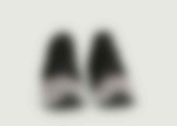 Arkk Copenhagen Black White Raven Mesh Sneakers E15