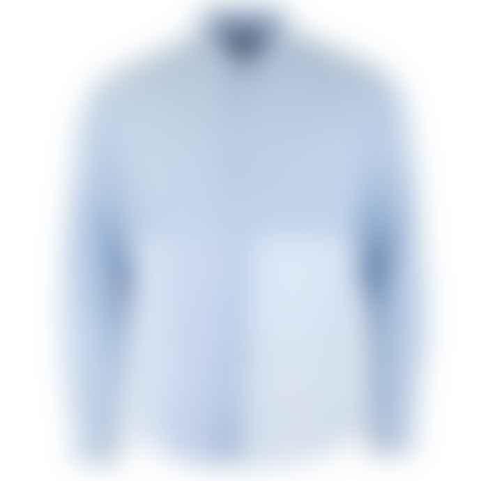 Soulland  Light Blue Miller Patchwork Shirt