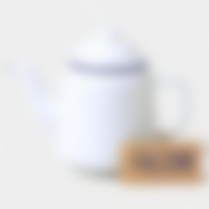 Falcon Enamelware White Enamel Teapot