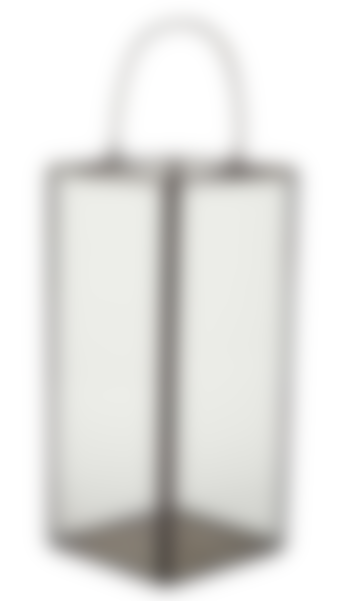 AU Maison Hurricane Lantern With Handle Brass Large