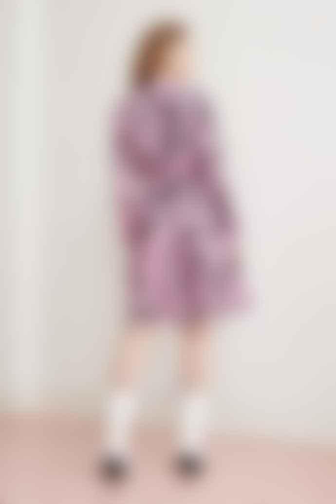 Fabienne Chapot Hayley Dress Pink Sky Zebra
