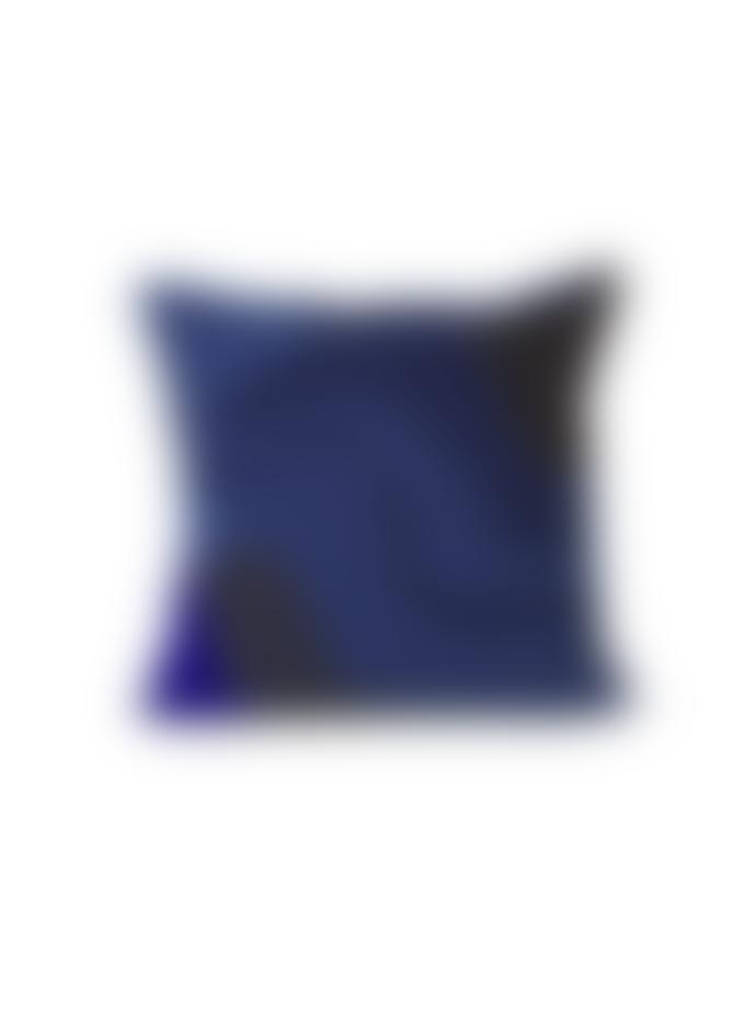 Ferm Living Dark Blue Acrylic and Cotton Vista Cushion