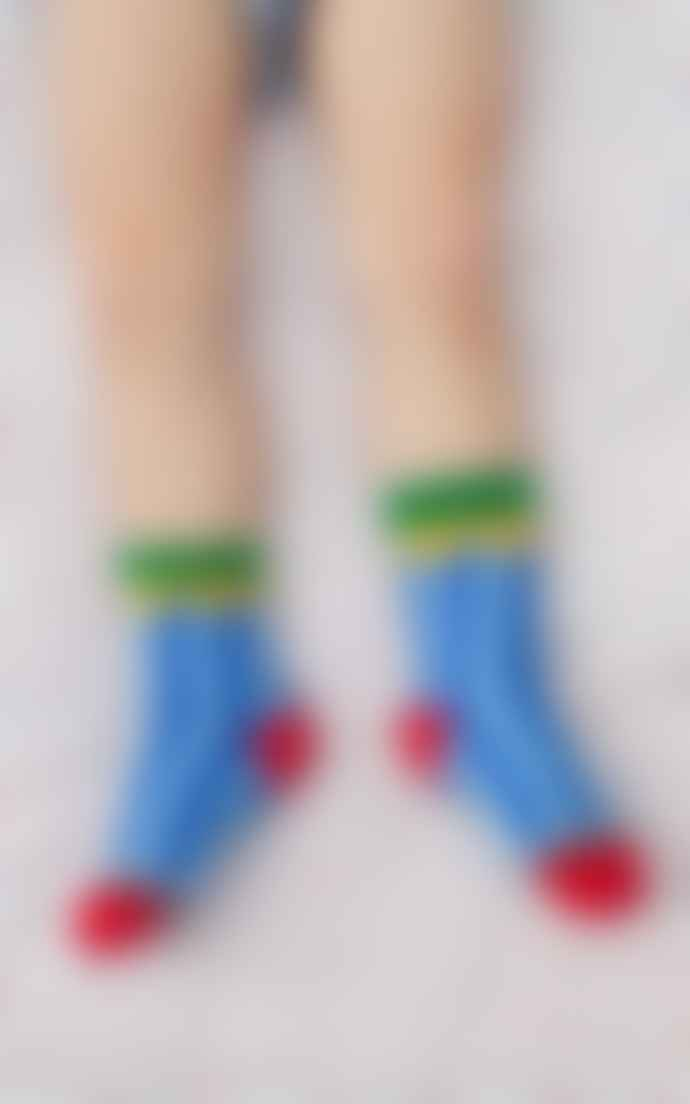 LaMAMA Children S Socks Circo Stripes