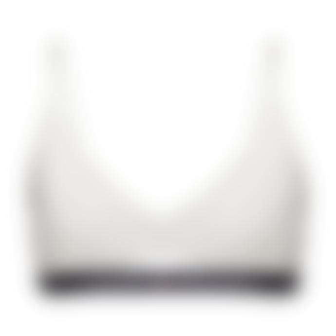 Tommy Hilfiger Cutout Bralette White