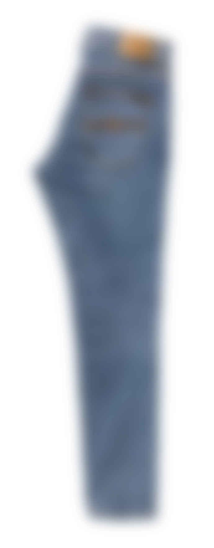 Nudie Jeans Lean Dean Slim Fit Jeans (Lost Orange)