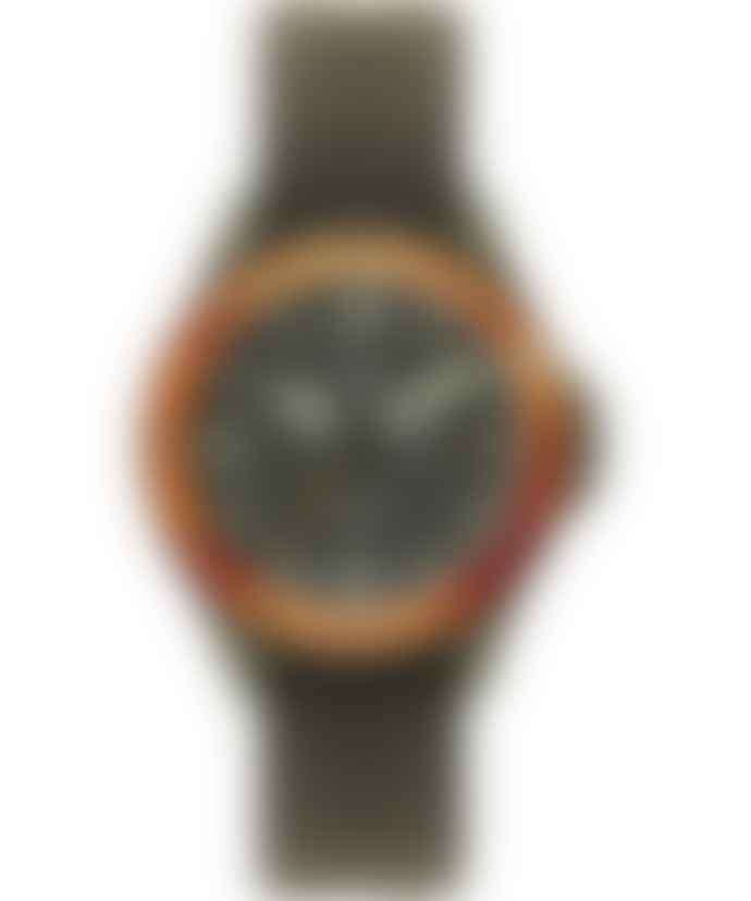 Timex Archive Timex Navi Land Watch Green Case Dark Green Dial
