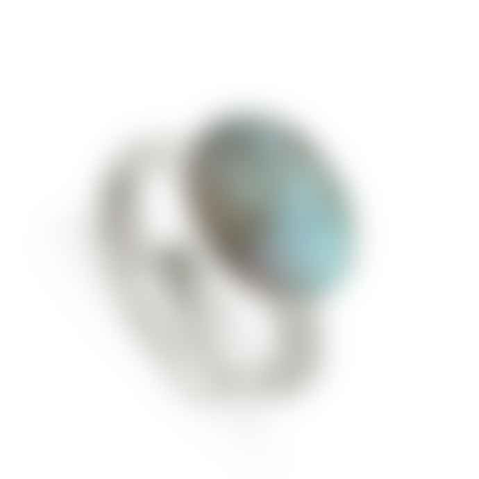 SVP Jewellery Atomic Maxi Labradorite Sterling Silver