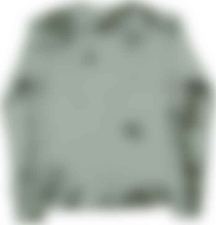 Eat Dust Thermal Waffle Tee L S Army Green