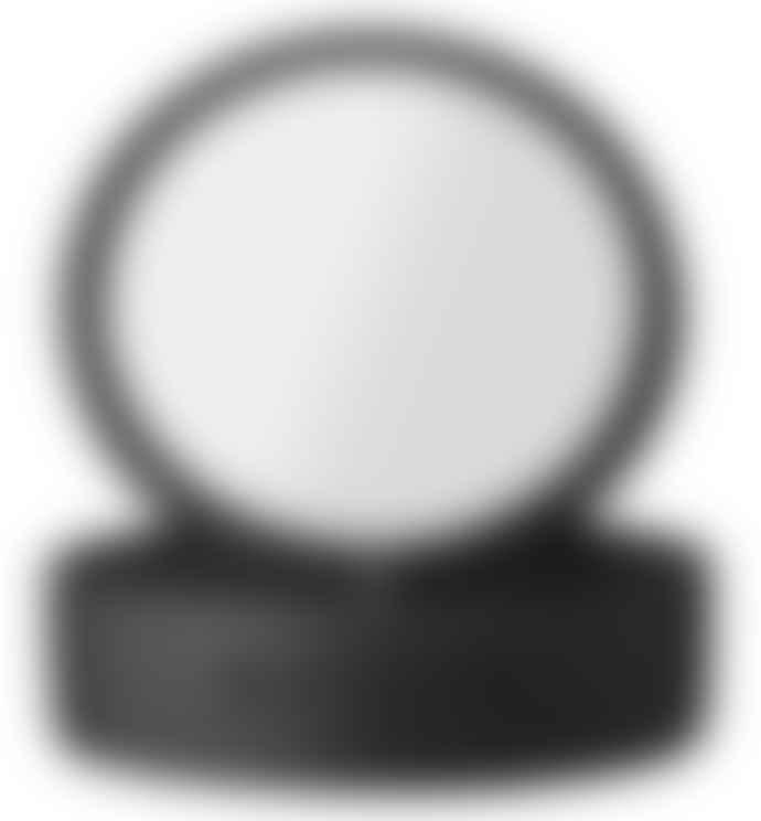 Lene Bjerre Black Polyresin and Glass Marsia Mirror