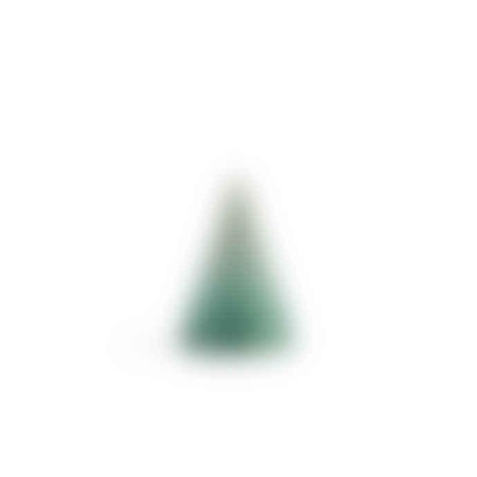 Kähler Green Blue Glazed Cone Large