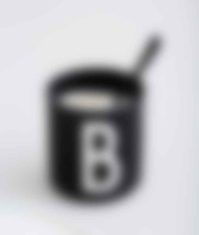 Design Letters Black Porcelain A to Z Letter Mug