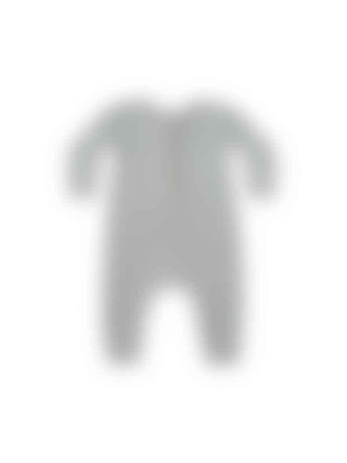 Quincy Mae Longsleeve Jumpsuit Dusty Blue