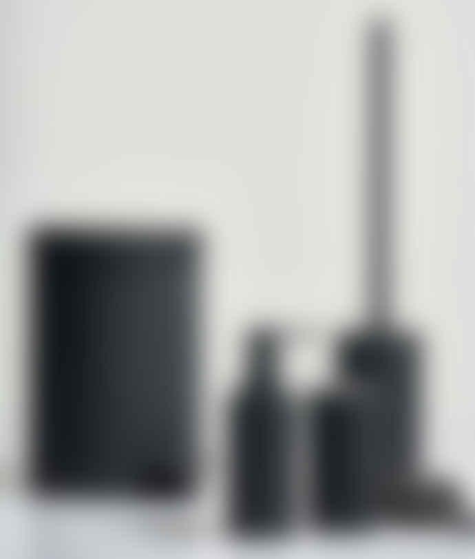Zone Denmark Black Steel and Rubber Pedal Bin - 602650
