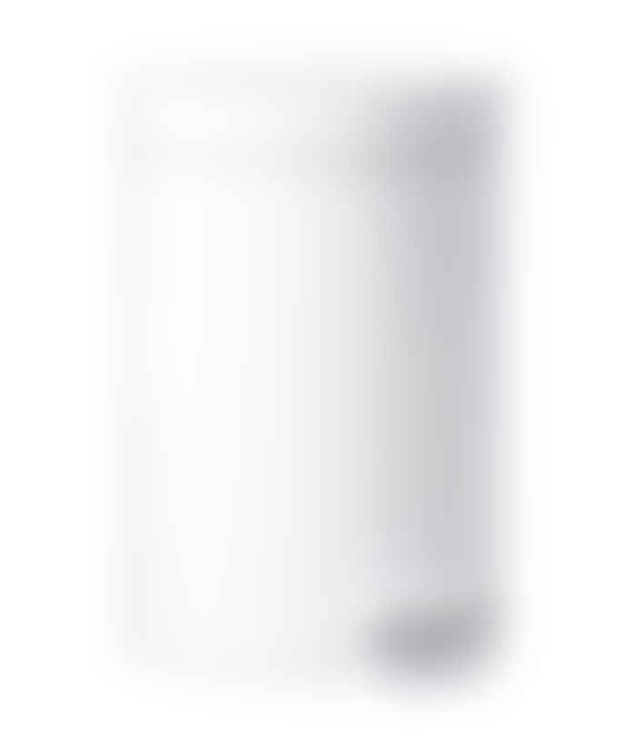 Zone Denmark White Steel and Rubber Pedal Bin - 605005
