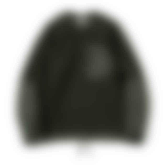 Partimento Boa Fleece Sweat Shirt with Pockets in Khaki
