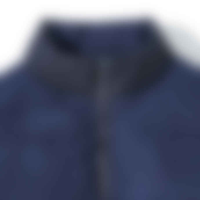 Partimento Duck Down Block Short Padded Jacket in Navy