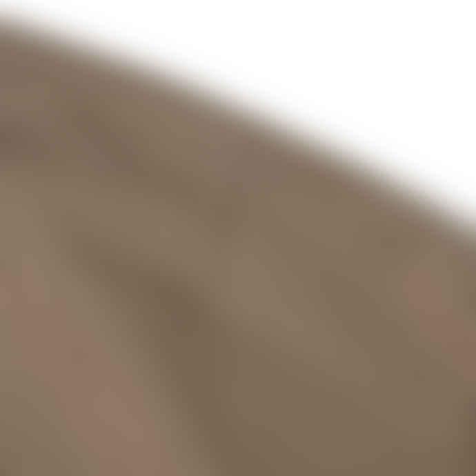 Partimento Full Volume Shirring Sleeves MTM Sweatshirt in Brown