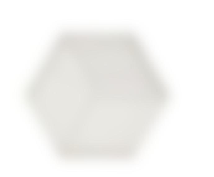 Zone Denmark 16 x 14 x 0.9cm Warm Grey Silicone Hexagon Trivet