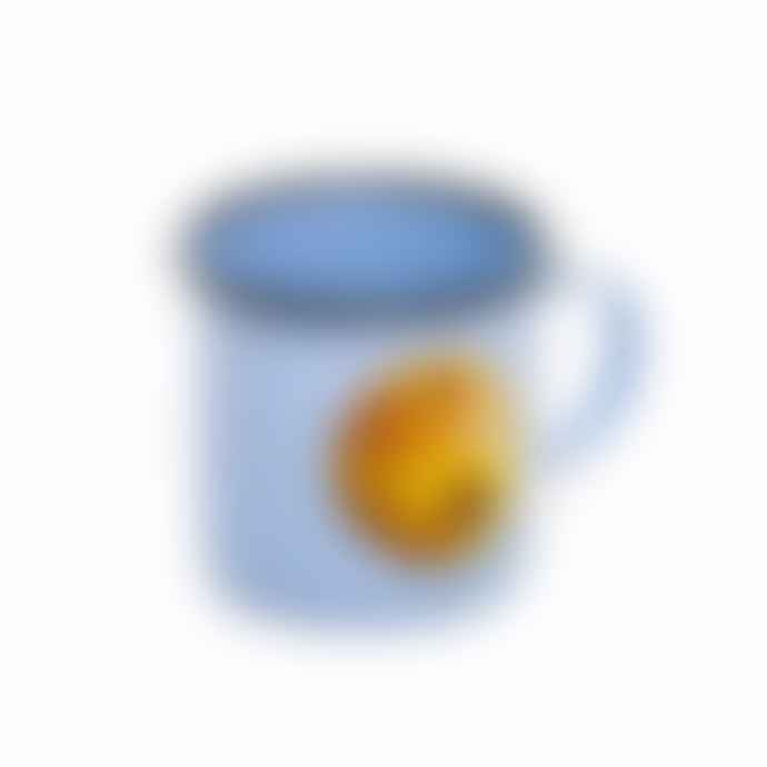"Seletti Toiletpaper Enamel Mug ""Apple"""
