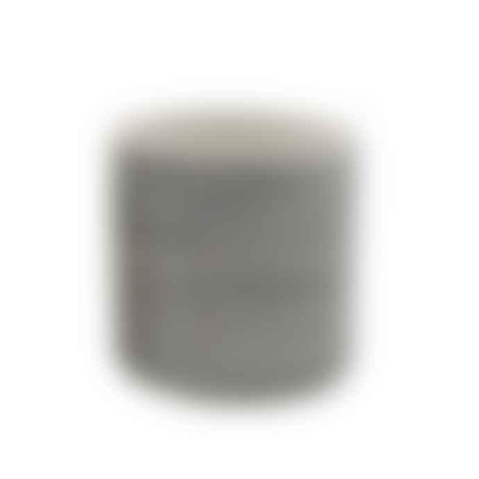 Liv Interior Ceramic Striped Black and White Planter small