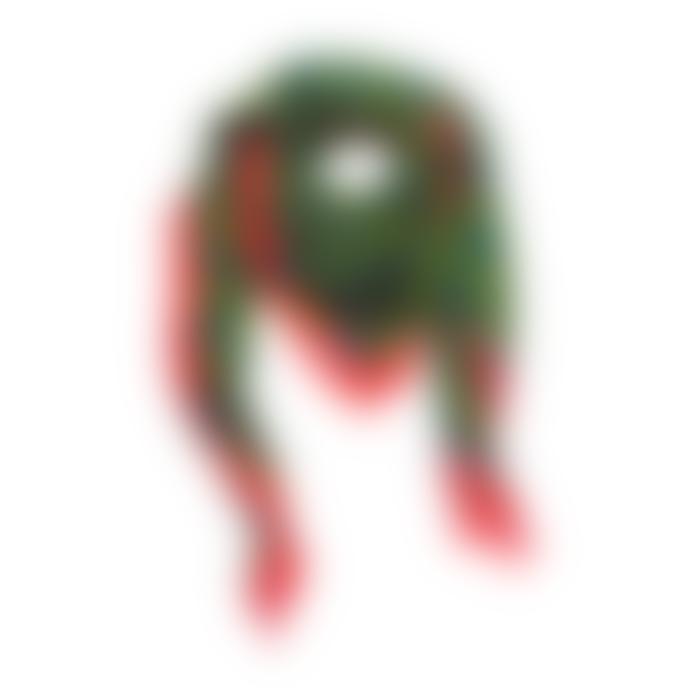 ZUZUNAGA Bitmap Maze Green Scarf