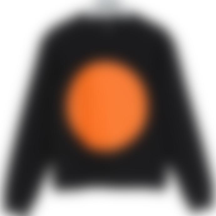 "starstyling ""Bulb"" Sweater Black Orange"